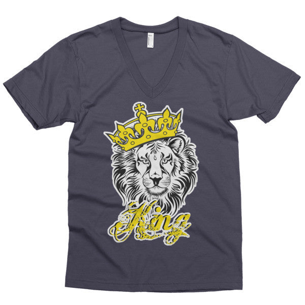 King Men's V-Neck