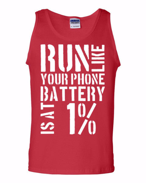 RUN - Motivation Tank top