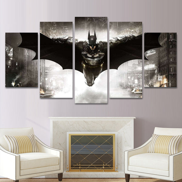 BATMAN 5 PIECE-CANVAS 010402