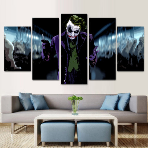 joker 5 piece canvas 122208