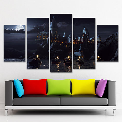 HARRY POTTER 5 PIECE CANVAS 121101