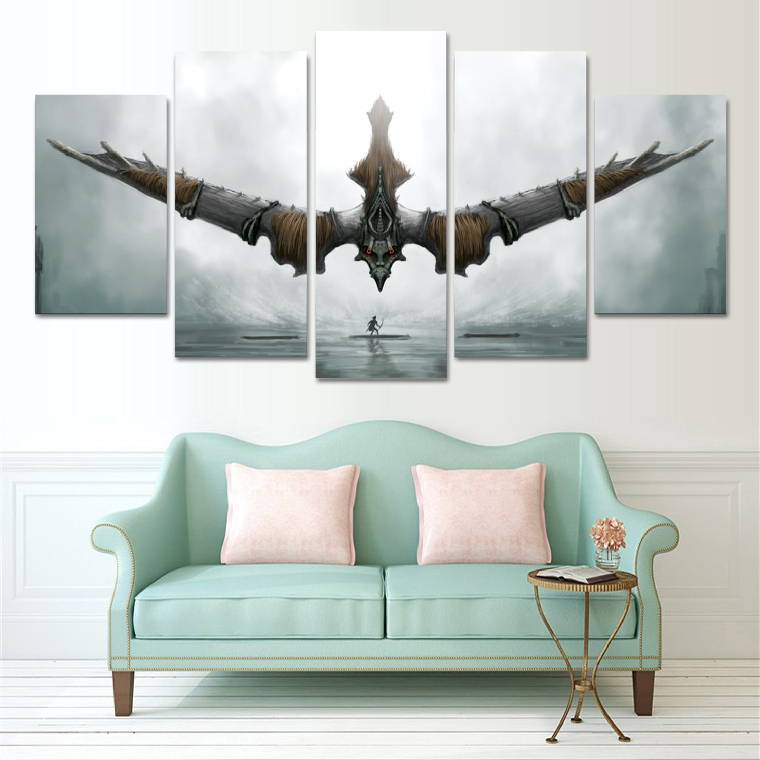 GAME OF COLOSSUS 5 PIECE CANVAS