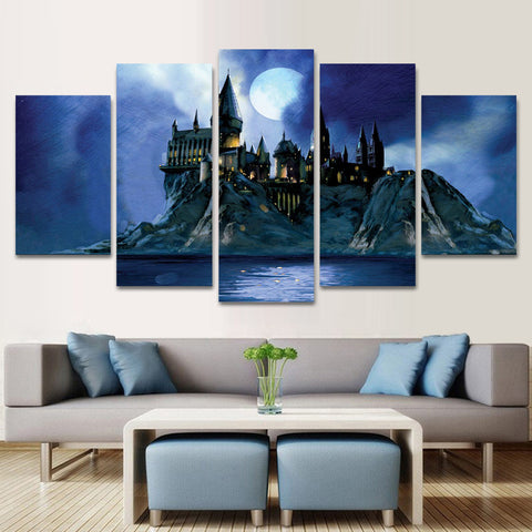 HARRY POTTER 5 PIECE CANVAS 010401