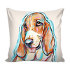 Basset Hound Pillow Cover