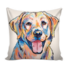 Yellow Lab Pillow Cover