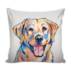 Yellow Labrador Retriever Pillow Cover