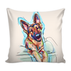 German Shepherd Pillow Cover v.2
