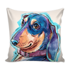 Dachshund Pillow Cover v.1