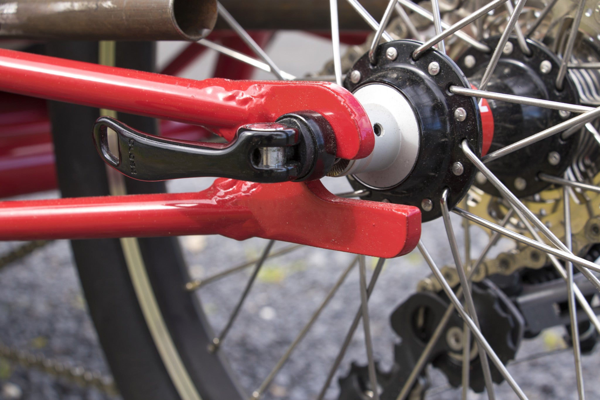 GTrikes Rear Entry Rear Dropouts