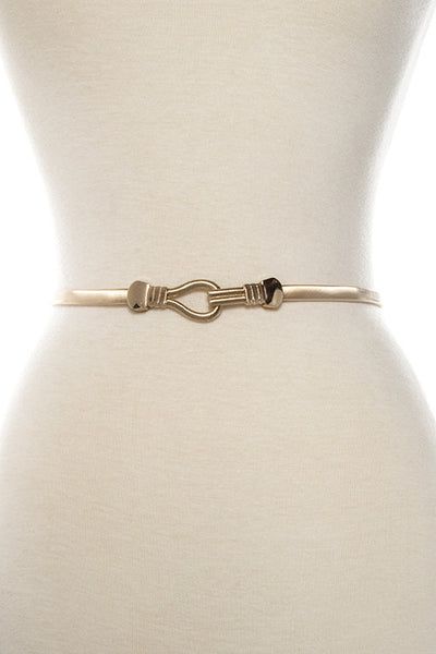 Gold Elastic Belt - Accessories - MadeModern
