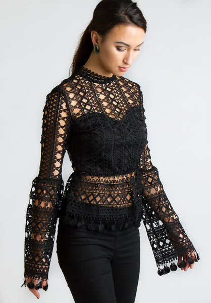 All you need is lace top - Tops - MadeModern