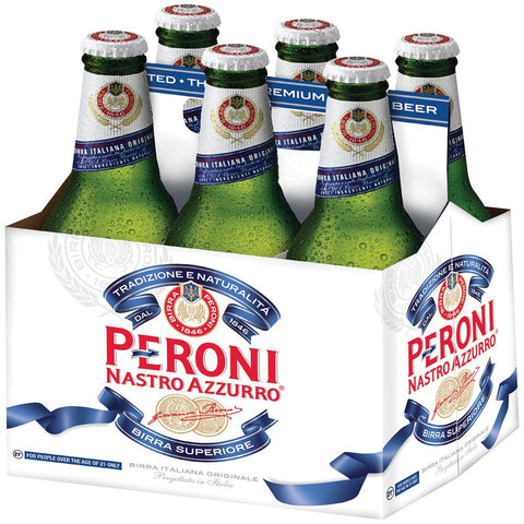Peroni Nastro Azzuro-330ml (Pack of 6)