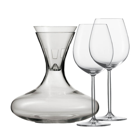 Schott Zwiesel DIVA Decanter (4 Piece Set) Schott Zwiesel - Drinkka Alcohol Delivery Best Whiskey Wine Gin Beer Vodkas and more for Parties in Makati BGC Fort and Manila | Bevtools Bar and Beverage Tools
