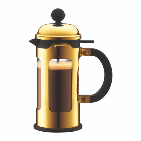 Chambord French Press Coffee Maker 12oz, Gold