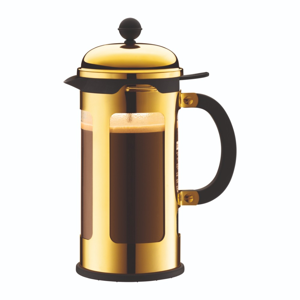 Chambord French Press Coffee Maker 34oz, Gold
