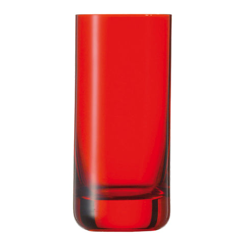 Schott Zwiesel SPOTS Tumbler All Round Red (Pack of 6) Schott Zwiesel - Drinkka Alcohol Delivery Best Whiskey Wine Gin Beer Vodkas and more for Parties in Makati BGC Fort and Manila | Bevtools Bar and Beverage Tools