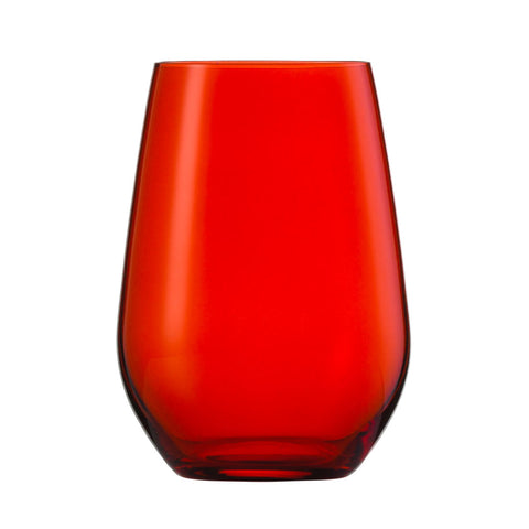 Schott Zwiesel VINA SPOTS Multipurpose Tumbler Red (Pack of 6) Schott Zwiesel - Drinkka Alcohol Delivery Best Whiskey Wine Gin Beer Vodkas and more for Parties in Makati BGC Fort and Manila | Bevtools Bar and Beverage Tools