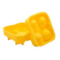 2 Inch Ice Ball Mold - Yellow Ice Tools and Accessories - Bevtools Bar and Beverage Tools | Alcohol and Liquor Delivery Makati, Metro Manila, Philippines