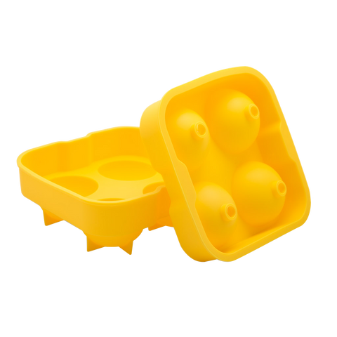 2 Inch Ice Ball Mold - Yellow Bar Tools & Accessories - Drinkka Alcohol Delivery Best Whiskey Wine Gin Beer Vodkas and more for Parties in Makati BGC Fort and Manila | Bevtools Bar and Beverage Tools