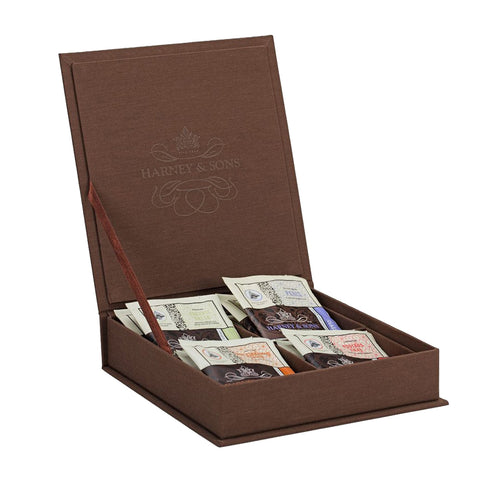 Harney & Sons Wooden Chest 28 Tea Bags Tea Sampler - Drinkka Alcohol Delivery Best Whiskey Wine Gin Beer Vodkas and more for Parties in Makati BGC Fort and Manila | Bevtools Bar and Beverage Tools