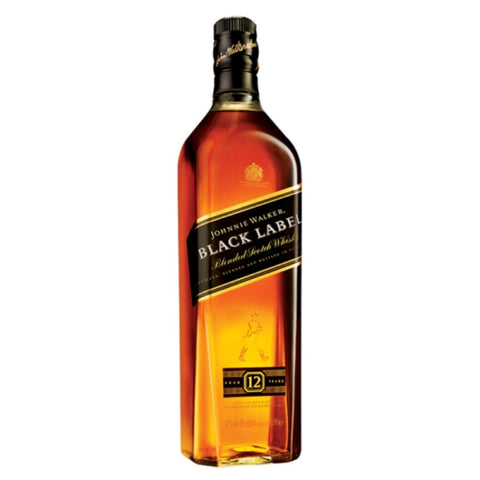 Johnnie Walker Black Label Whisky - 1000ml Whiskey - Drinkka Alcohol Delivery Best Whiskey Wine Gin Beer Vodkas and more for Parties in Makati BGC Fort and Manila | Bevtools Bar and Beverage Tools