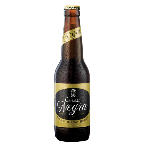 Cerveza Negra 330 mL Bottle (Pack of 6)