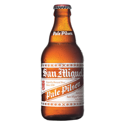 San Miguel Pale Pilsen 320 mL Bottle (Pack of 6)