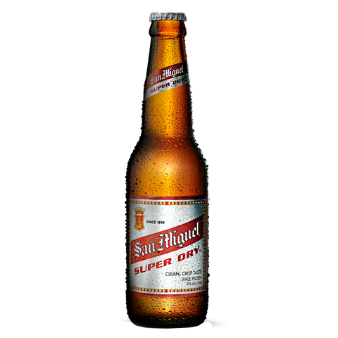San Miguel Super Dry 330 mL Bottle (Pack of 6)
