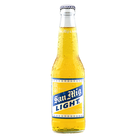 San Mig Light 330 mL Bottle (Pack of 6)