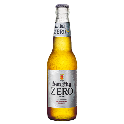 San Mig Zero 330 mL Bottle (Pack of 6)