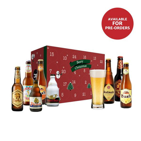 FOR PRE-ORDER ONLY: Advent Calendar Box with 24 unique Belgian beers