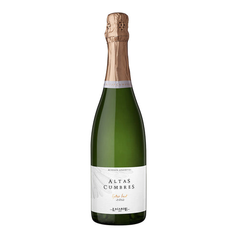 Altas Cumbres | Extra Brut (Charmat Method) 2014 White Wine - Drinkka Alcohol Delivery Best Whiskey Wine Gin Beer Vodkas and more for Parties in Makati BGC Fort and Manila | Bevtools Bar and Beverage Tools