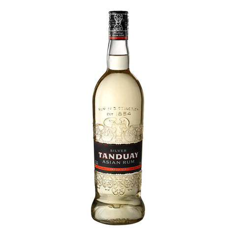Tanduay Asian Rum Silver - 750ml Rum - Drinkka Alcohol Delivery Best Whiskey Wine Gin Beer Vodkas and more for Parties in Makati BGC Fort and Manila | Bevtools Bar and Beverage Tools