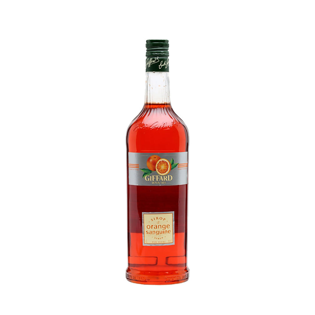 Giffard Blood Orange Syrup -1000ml Syrups - Drinkka Alcohol Delivery Best Whiskey Wine Gin Beer Vodkas and more for Parties in Makati BGC Fort and Manila | Bevtools Bar and Beverage Tools