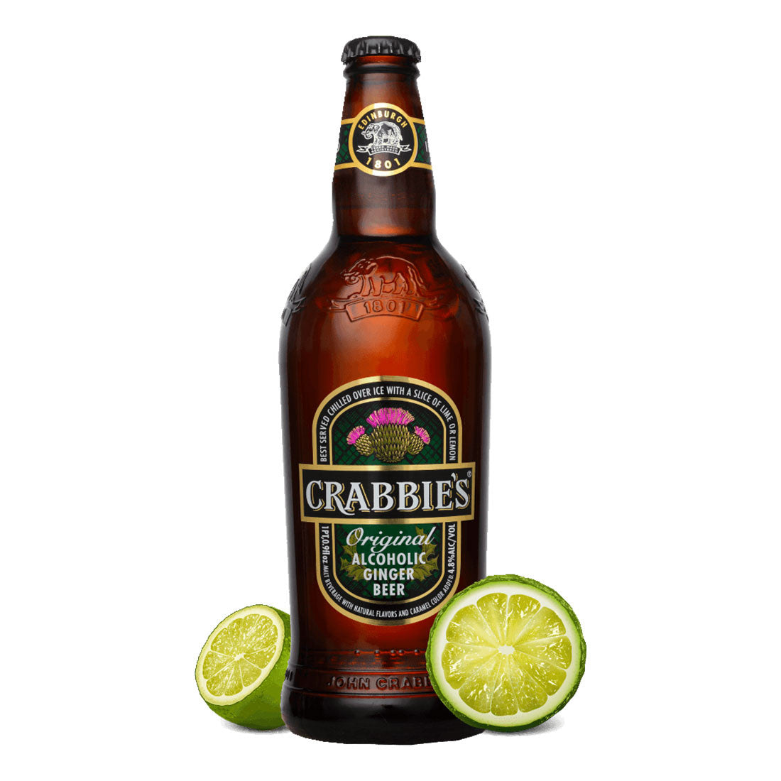 Crabbie's Original Beer -330ml Imported Craft Beer - Drinkka Alcohol Delivery Best Whiskey Wine Gin Beer Vodkas and more for Parties in Makati BGC Fort and Manila | Bevtools Bar and Beverage Tools
