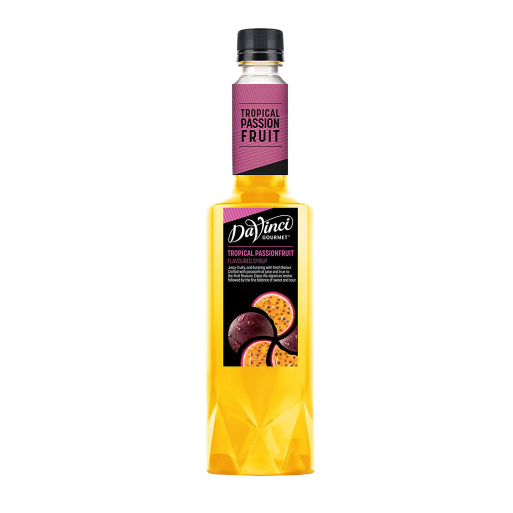Davinci Gourmet Tropical Passion Fruit -750ml Syrups - Drinkka Alcohol Delivery Best Whiskey Wine Gin Beer Vodkas and more for Parties in Makati BGC Fort and Manila | Bevtools Bar and Beverage Tools