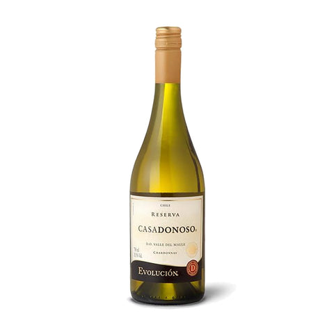 Casa Donoso Evolucion Reserva Chardonnay 2016 - 750ml White Wine - Drinkka Alcohol Delivery Best Whiskey Wine Gin Beer Vodkas and more for Parties in Makati BGC Fort and Manila | Bevtools Bar and Beverage Tools