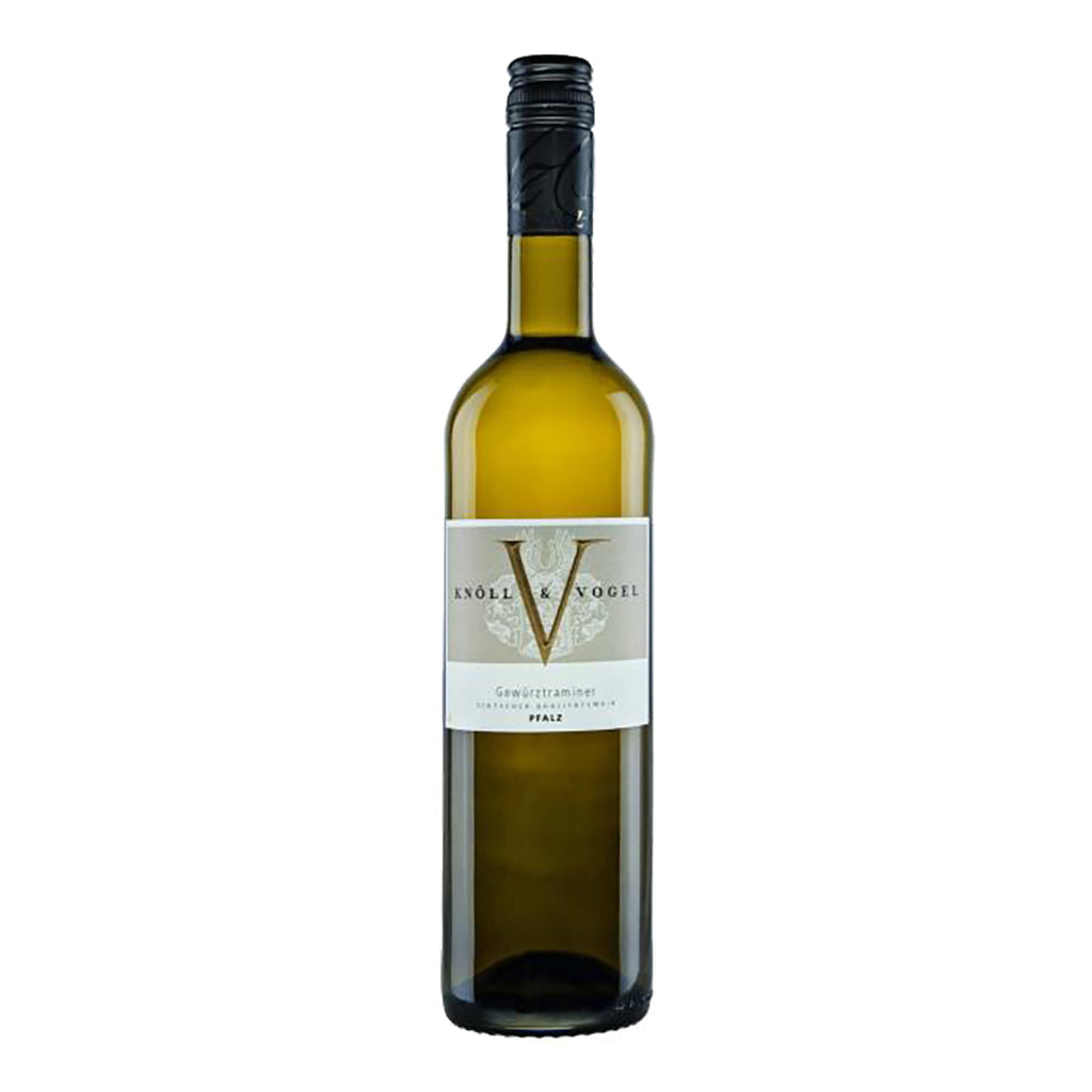 Knoll & Vogel Gewurztraminer Deutscher Qualitatswein 2016 - 750ml Wine - Drinkka Alcohol Delivery Best Whiskey Wine Gin Beer Vodkas and more for Parties in Makati BGC Fort and Manila | Bevtools Bar and Beverage Tools