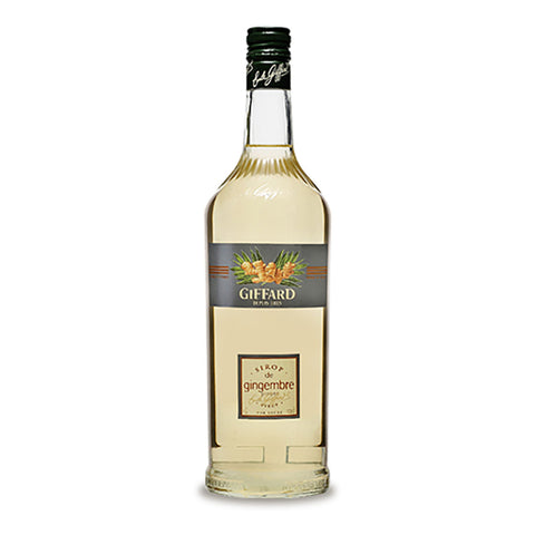 Giffard Gingembre (Ginger) Syrup -1000ml Syrups - Drinkka Alcohol Delivery Best Whiskey Wine Gin Beer Vodkas and more for Parties in Makati BGC Fort and Manila | Bevtools Bar and Beverage Tools