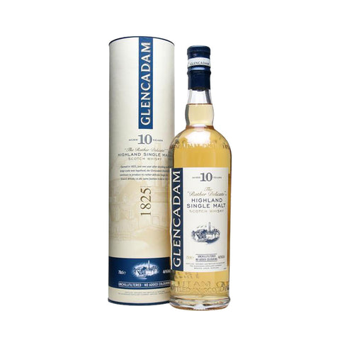 Glencadam Single Malt Scotch Whisky 10 Years - 700ml Whiskey - Drinkka Alcohol Delivery Best Whiskey Wine Gin Beer Vodkas and more for Parties in Makati BGC Fort and Manila | Bevtools Bar and Beverage Tools