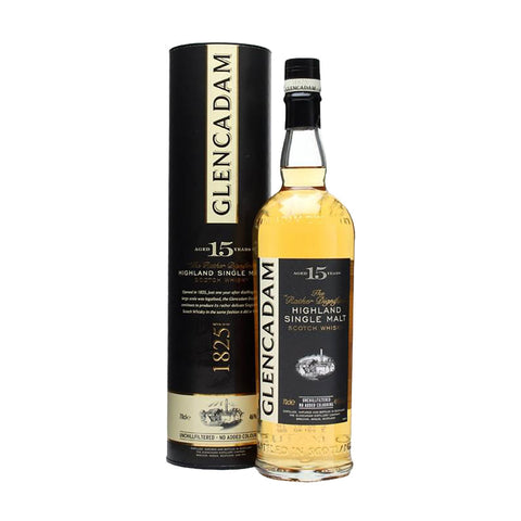 Glencadam Single Malt Scotch Whisky 15 Years - 700ml Whiskey - Drinkka Alcohol Delivery Best Whiskey Wine Gin Beer Vodkas and more for Parties in Makati BGC Fort and Manila | Bevtools Bar and Beverage Tools