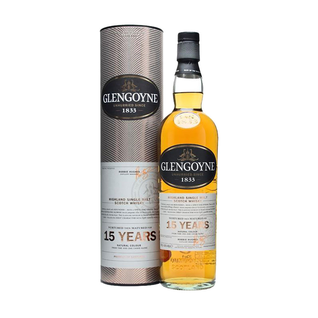 Glengoyne Single Malt Scotch Whisky 15 Years - 700ml Whiskey - Drinkka Alcohol Delivery Best Whiskey Wine Gin Beer Vodkas and more for Parties in Makati BGC Fort and Manila | Bevtools Bar and Beverage Tools
