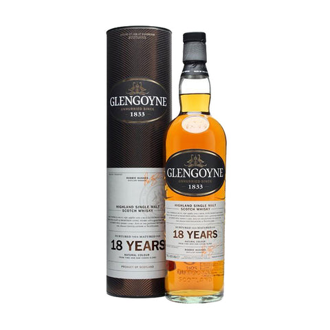 Glengoyne Single Malt Scotch Whisky 18 Years - 700ml Whiskey - Drinkka Alcohol Delivery Best Whiskey Wine Gin Beer Vodkas and more for Parties in Makati BGC Fort and Manila | Bevtools Bar and Beverage Tools