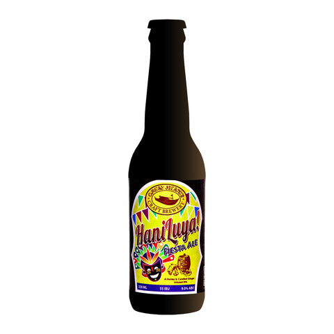 Great Islands Craft Brewery | Haniluya! Fiesta Ale - 330ml Beer Local Craft Beer - Drinkka Alcohol Delivery Best Whiskey Wine Gin Beer Vodkas and more for Parties in Makati BGC Fort and Manila | Bevtools Bar and Beverage Tools