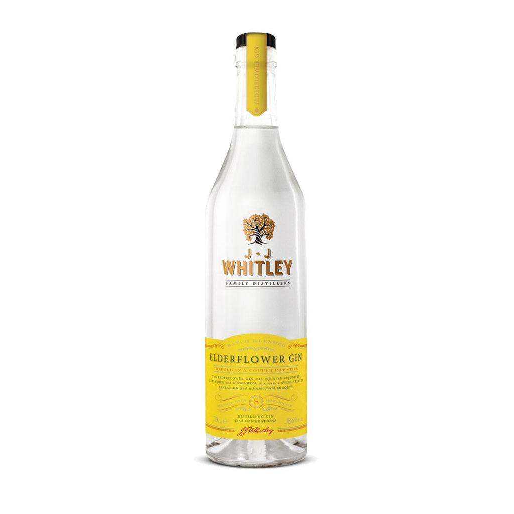 JJ Whitley Elderflower Gin -700ml Gin - Bevtools Bar and Beverage Tools | Alcohol and Liquor Delivery Makati, Metro Manila, Philippines