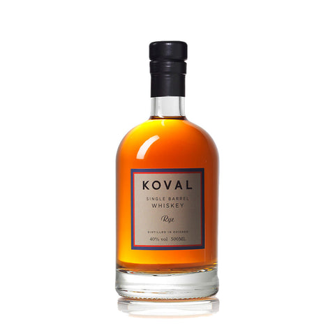 Koval Rye Whiskey - 500ml Whiskey - Drinkka Alcohol Delivery Best Whiskey Wine Gin Beer Vodkas and more for Parties in Makati BGC Fort and Manila | Bevtools Bar and Beverage Tools