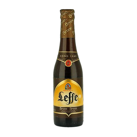 Leffe Brune Beer - 330ml Imported Craft Beer - Drinkka Alcohol Delivery Best Whiskey Wine Gin Beer Vodkas and more for Parties in Makati BGC Fort and Manila | Bevtools Bar and Beverage Tools