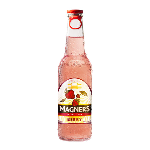 Magners Irish Cider Beer Berry 330ml (Pack of 4) Cider - Drinkka Alcohol Delivery Best Whiskey Wine Gin Beer Vodkas and more for Parties in Makati BGC Fort and Manila | Bevtools Bar and Beverage Tools