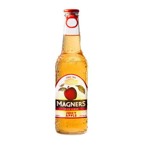 Magners Irish Cider Beer Juicy Apple 330ml (Pack of 4) Cider - Drinkka Alcohol Delivery Best Whiskey Wine Gin Beer Vodkas and more for Parties in Makati BGC Fort and Manila | Bevtools Bar and Beverage Tools