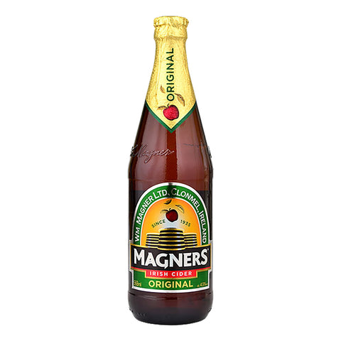 Magners Original Irish Cider Beer Apple 568ml (Pack of 4) Cider - Drinkka Alcohol Delivery Best Whiskey Wine Gin Beer Vodkas and more for Parties in Makati BGC Fort and Manila | Bevtools Bar and Beverage Tools
